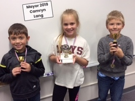 2nd Grade Mayor Elected